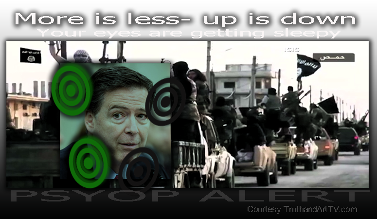 James Comey ISIS psyop