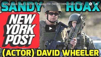 Sandy Hook crisis actor caught