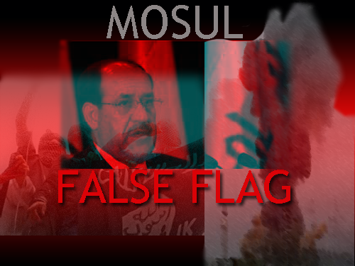 Mosul false flag
