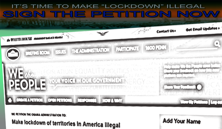 Lockdown petition