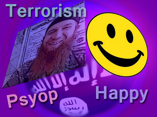 Smiling ISIS commander
