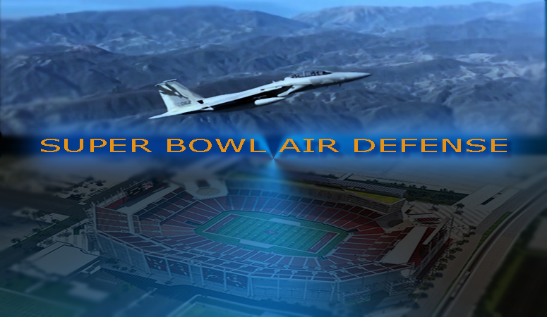 Super Bowl Air Space