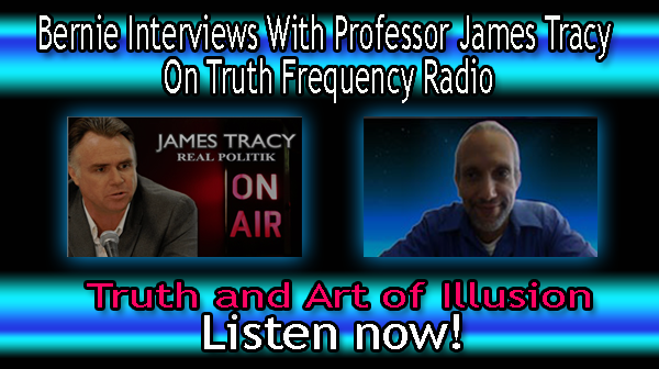 Bernie interview with James Tracy